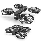 ZHTY RC Drone avec caméra HD 0.3MP / 2MP DIY Conception 2.4G WiFi FPV sans tête Mode RC Hélicoptère Une Clé Retour RC Quadricoptère pour Enfants Garçons Cadeaux, 2.0MP