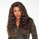 Vivica A. Fox OLIVIA-V New Futura Fiber, Deep Lace Front Wig in Color CABERNET