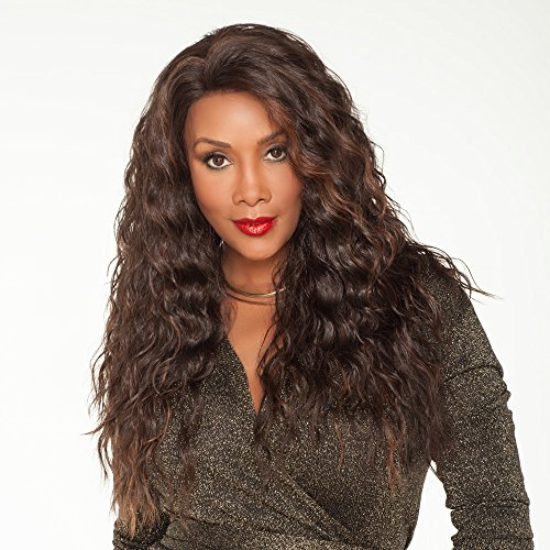 Vivica A. Fox OLIVIA-V New Futura Fiber, Deep Lace Front Wig in Color FS1B30