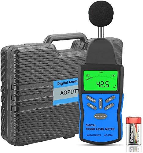 Digital Sound Level Meter AP-882A Decibel Meter 30~130dB(A) DB Meter...