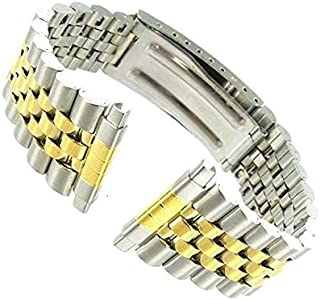 16-22mm Men's Classic Stainless Steel Watchband Replacement