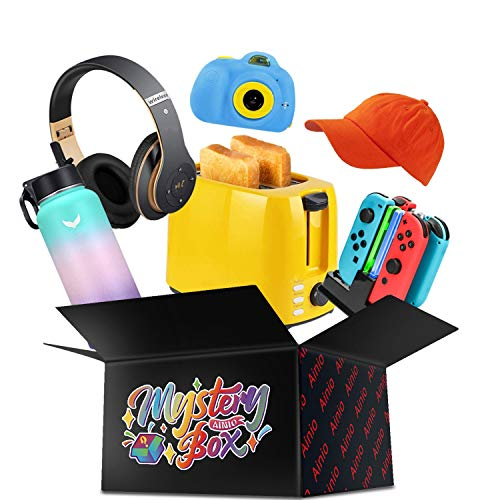 AINIO Mystery Box Surprise Gifts for Birthday, Party and Holiday All Items are New