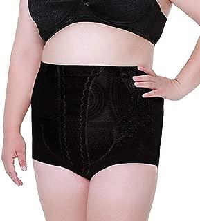MUYDA Women's High-Waisted Panties Control Shapewear Plus Size Panty Underwear