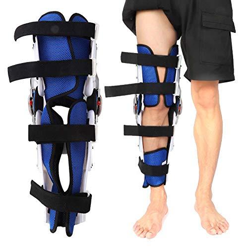 Rodillera, Ortesis de rodilla ajustable Estabilizador de rodilla transpirable para hombres y mujeres, Rodillera de recuperación para ortopedia, Desgarro de menisco, Pierna derecha e izquierda
