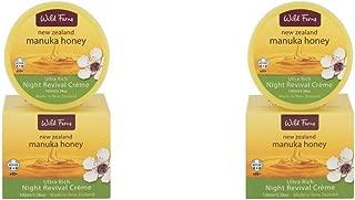(2 PACK) - Wild Fern Manuka Honey Night Revival Cream | 100ml | 2 PACK - SUPER SAVER - SAVE MONEY