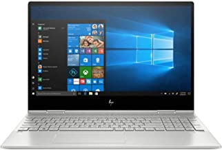 HP Envy x360 2-in-1 15.6 Inch FHD 1080P Touchscreen Laptop - Intel Quad Core i7-8565U Up to 4.6 GHz, Intel UHD 620, 8GB DDR4 RAM, 1TB SSD, HDMI, FP Reader, WiFi, Backlit Keyboard, Windows 10