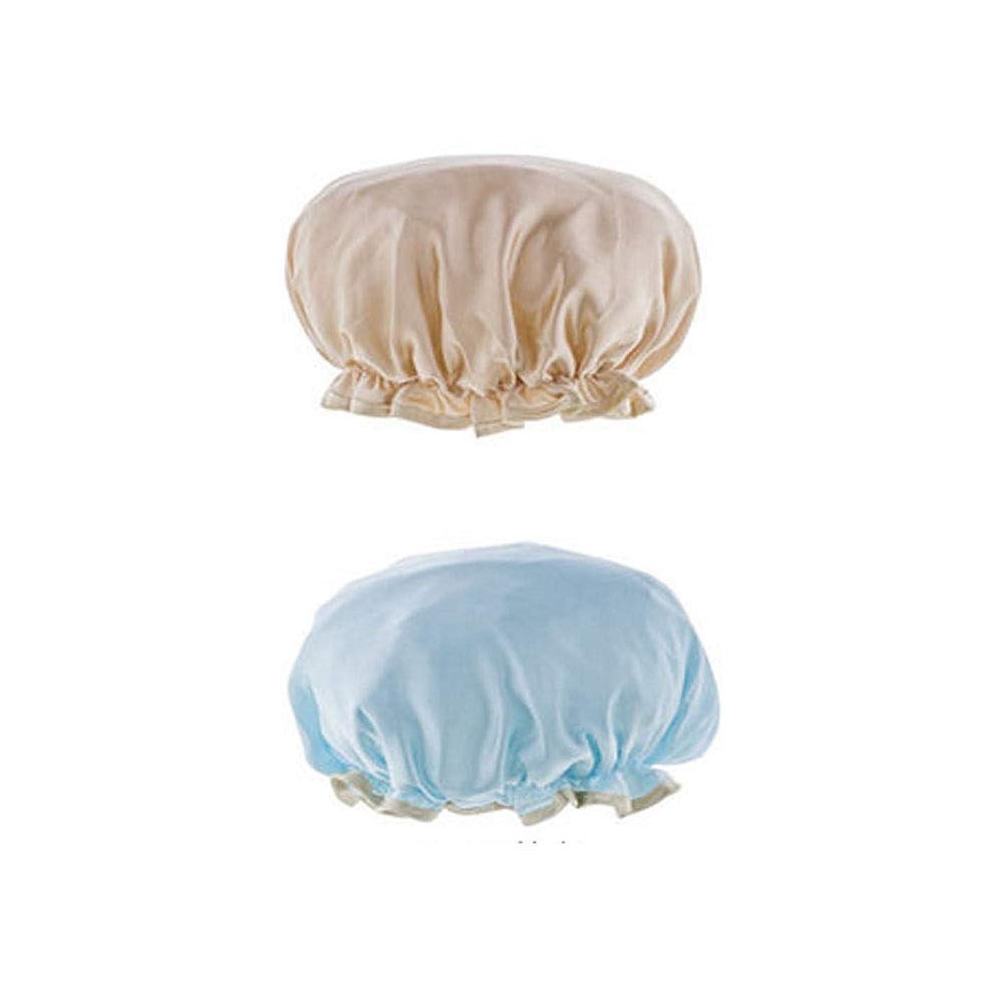 貴重なソーシャル合計シャワーキャップ、レディースシャワーキャップレディース用のすべての髪の長さと太さのデラックスシャワーキャップ - 防水とカビ防止、再利用可能なシャワーキャップ。 (Color : 5)