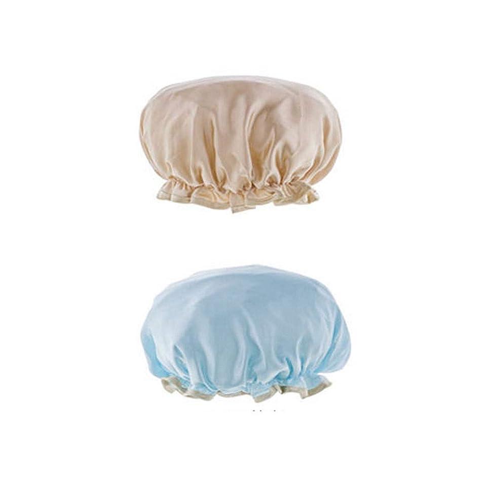 そのような行商人費用シャワーキャップ、レディースシャワーキャップレディース用のすべての髪の長さと太さのデラックスシャワーキャップ - 防水とカビ防止、再利用可能なシャワーキャップ。 (Color : 5)