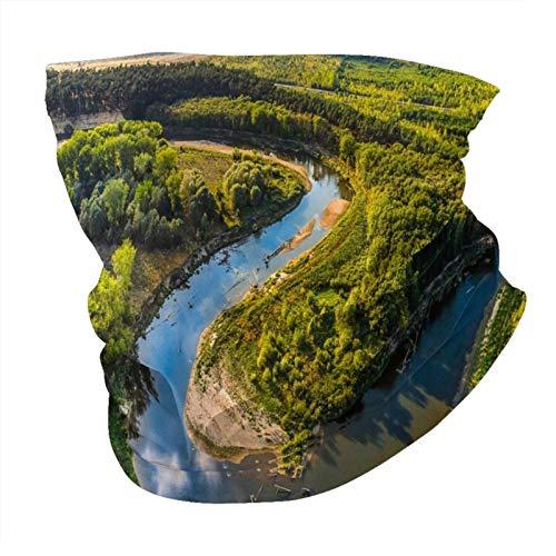 Morava bends río verano sin costuras multifuncionales headwear variedad bufanda cabeza diseño personalizado capucha deportes al aire libre diadema
