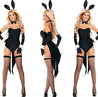 ba1130ea2 Cosplay Sexy Lingerie Halloween Costume Rabbit Sexy Cute Bunny Costume Rave  Party Theme Masquerade Accessories