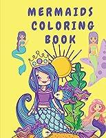 Libro para colorear de sirenas: Libro de actividades para niños - Libro para colorear para niños con sirenas - Páginas para colorear para niños pequeños - Libros para colorear con sirenas