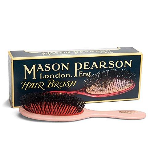 Mason Pearson B1 Extra Large Pure Boar Bristle Fine Hair Brush, Cleaner Gift Box