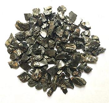 Elite Shungite Stone for Water Purification & Jewelry Making 0,22 Lb/100 gr Elite Noble Shungite Stones Natural Raw