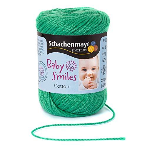 Schachenmayr Baby Smiles Cotton 9807350-01071 golfgrün Handstrickgarn, Häkelgarn, Babygarn