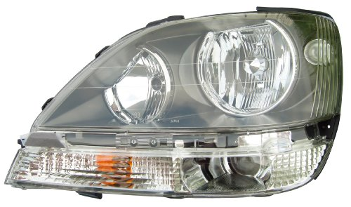 Epic Lighting OE Fitment Replacement Headlight Assembly Compatible with 1999-2003 RX 300 [ LX2502103 8115048031 ] Left Driver Side LH