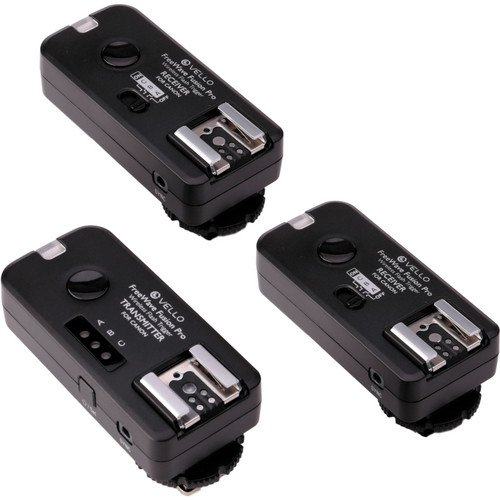 Vello FreeWave Fusion Pro Kit with 2 Receivers for Canon DSLRs