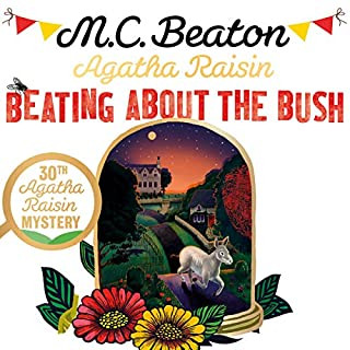 Agatha Raisin: Beating About the Bush cover art