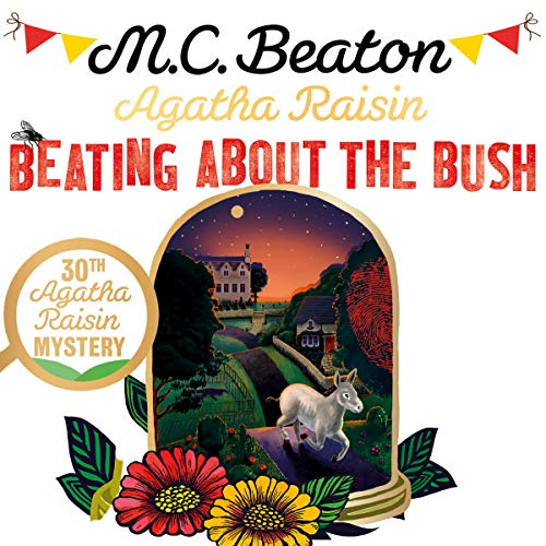 Agatha Raisin: Beating About the Bush cover art