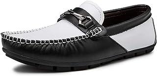 [ワイエルワイ] ビジネス カジュアル 耐久 防滑 通気 シューズ 簡単着脱 革靴 メンズ 軽量