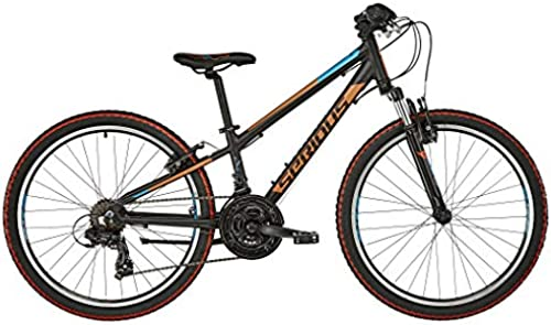 SERIOUS Rockville 24  Black Orange Blau 2019 Kinderfahrrad
