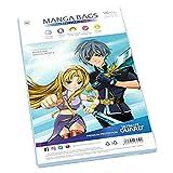 Ultimate Guard UGD020011 - Comic Bags Manga Size (100) -