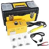 MR CARTOOL Hot Stapler Kit Welder Welding Kit 220V AC with 700PCS Staples, Snips for Plastic Auto Bumper Body Repair, Car Body Repair, Collision Repair Sets