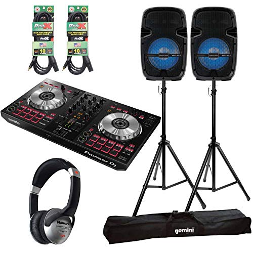 Why Should You Buy Pioneer DDJ-SB3 Serato DJ Controller + Party Box 8 LED Bluetooth Speakers Pack