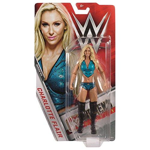 WWE Básico Serie 71 Figura de Acción de Lucha Libre - Charlotte Flair ' la Reina ' para Mujer Campeón