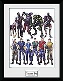 GB eye, Resident Evil, Concept Art, Print Enmarcado 40 x 30 cm
