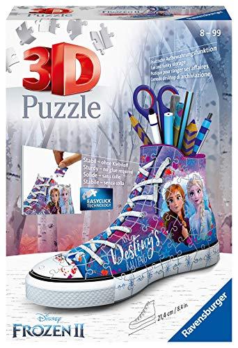 Ravensburger - Puzzle 3D Sneaker Frozen 2 (12121)