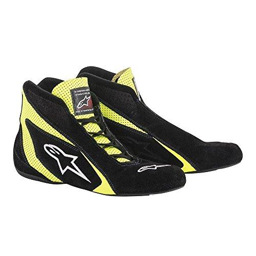 Alpinestars 2710618-12B-10.5 SP Shoes , Black, Size 10.5, SFI 3.3 Level 5/FIA, Suede