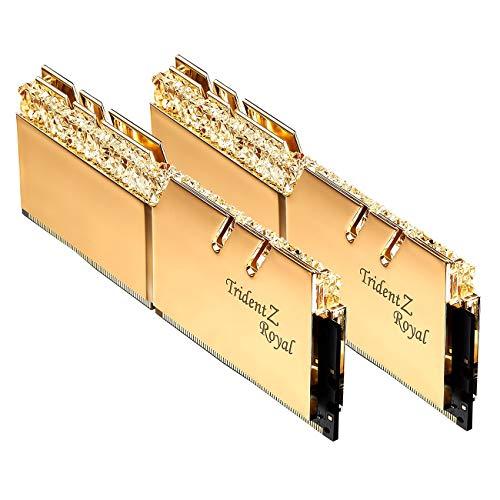 G.Skill Trident Z Royal 16 GB DDR4 3600 MHz Arbeitsspeicher Module (16 GB, 2 x 8 GB, DDR4, 3600 MHz)