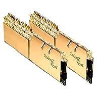 32GB G.Skill DDR4 Trident Z Royal Gold 3200Mhz PC4-25600 CL16 1.35V Dual Channel Kit (2x16GB)