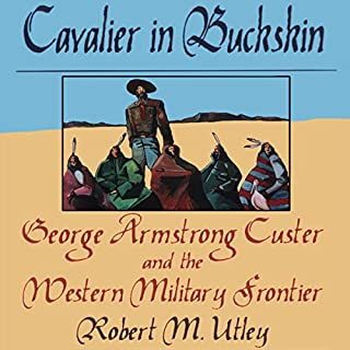 Cavalier in Buckskin audiobook cover art