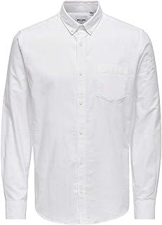 Only & Sons Men's Onsalvaro Ls Oxford Shirt Noos Formal