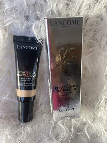 Lancome Effacernes Waterproof Long Lasting Undereye Concealer, No. 210 Light Buff, 0.52 Ounce