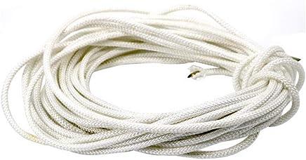 al Aire Libre de la Cuerda Auxiliar de Escalada 12mm Seguridad Cuerda Duradera Escape Rescue Rope,Black,5m Gyhhhm Cuerda de Escalada
