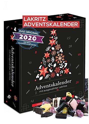 Lakritz Adventskalender I Weihnachtskalender mit echter Lakritz