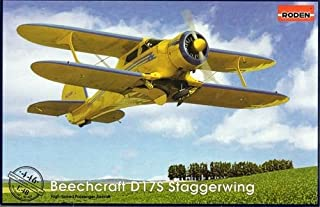 Roden Beechcraft D17S Staggerwing Airplane Model Kit