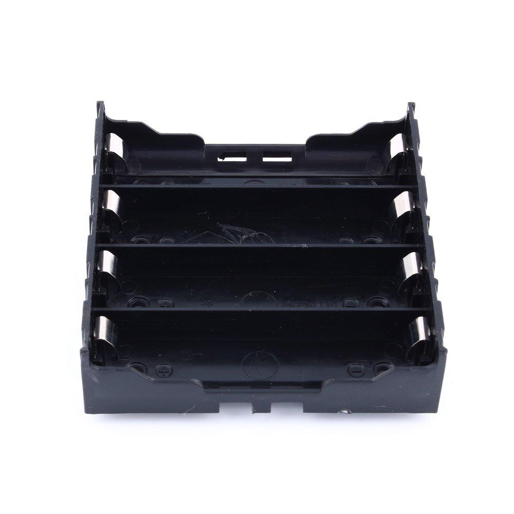 Zerone - Caja de plástico para Pilas de 1/2/3/4 18650, 3,7 V-14,8 V (1pc): Amazon.es: Deportes y aire libre