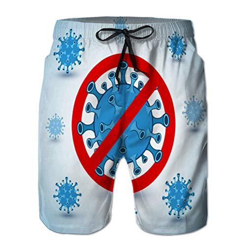 vbndfghjd Pantaloncini da Spiaggia da Bagno da Uomo a Rapida Asciugatura Rapida Stile Astratto xuxuxu Senza Cuciture XXL