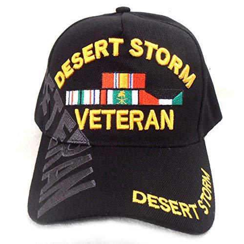 Buy Caps and Hats Desert Storm Veteran Baseball Cap Black Hat Army Air Force Marines Navy