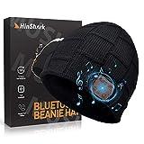 Bluetooth Mütze Herren Damen, Geschenke für Männer & Frauen, Adventskalender Männer 2020, Bluetooth Beanie Wintermütze Herren, Warme Strickmütze mit Kopfhörern Bluetooth, Weihnachts Nikolaus Geschenke