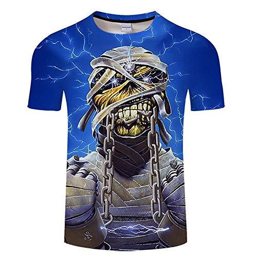 T Shirt Skull 3D Print T Shirt Men Women Tshirt Summer Funny Short Sleeve O-Neck Tops&Tee Streetwear Asianxl Tx176
