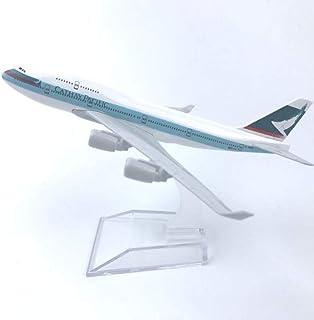 16CM合金航空機モデル香港キャセイパシフィック航空747航空ギフト子供のおもちゃ誕生日プレゼント静的装飾品
