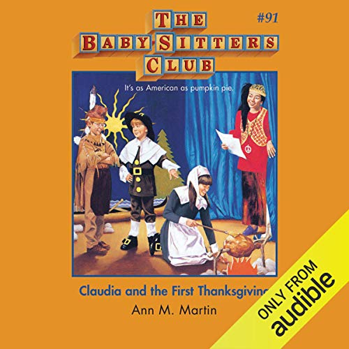 Claudia and the First Thanksgiving audiobook cover art