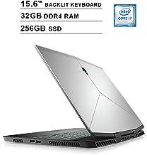 Dell Alienware M15 15.6-Inch FHD 1080P Gaming Laptop, Intel 6-Core i7-8750H up to 4.1GHz, NVIDIA GTX 1060 6GB, 32GB DDR4 RAM, 256GB SSD, USB-C, HDMI, WiFi, Backlit KB, Windows 10