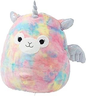Justice Girls Kellytoy Squishmallow Bo The Llamacorn Llama Unicorn 16 in Cuddle Plush Pillow