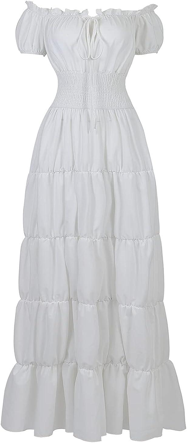 Ranking TOP9 Haorugut Women Renaissance Medieval Irish Over Manufacturer direct delivery Dress Costume Smo
