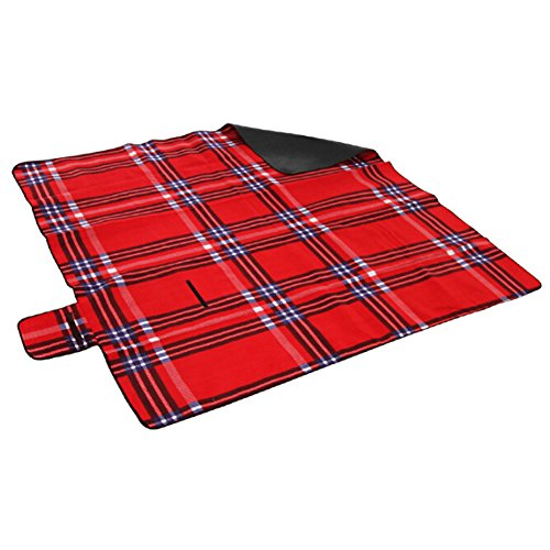 Phoenix Wonder Camping/Strand/Picknick-Decke (150x200cm) mit warmem Plüsch,A